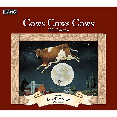 Cows Cows Cows 2021 Calendar
