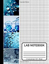 "Lab Notebook: 4x4 Quad ruled Graph Paper 8.5x11"" size, 100 pages  : for to record the results of Chemistry , Biology , Physics , Sciences Laboratory ... cover (Lab Notebook Graph paper 100 page)"
