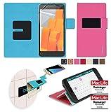 Hülle für Wileyfox Spark X Tasche Cover Hülle Bumper   Pink   Testsieger