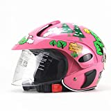 Casco de bicicleta para niños, casco de moto para niños, casco de seguridad ligero para niños de 2 a 8 años de edad