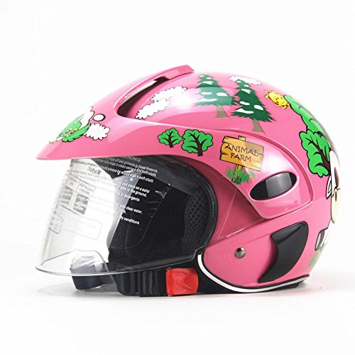 HEIRAO Kinder Fahrradhelm, Kinder Motorradhelm, Leichter Schutzhelm für 3-8 Jahre alte Kinder