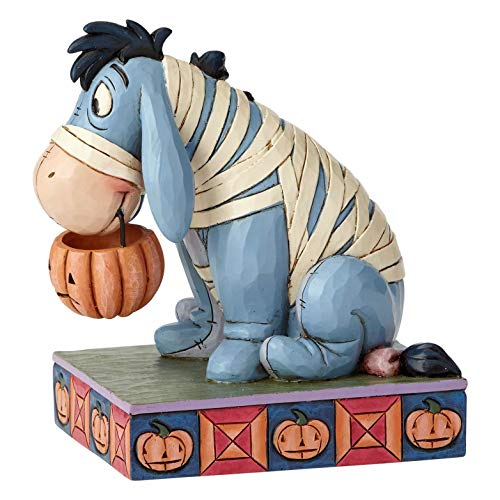 Disney Traditions Melancholy Mummy-Eeyore Figurine Ornament, Multicolour