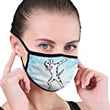 CZLXD - Máscara Antipolvo para Perro dálmata, Antipolvo, máscara anticontaminación para Hombre y Mujer