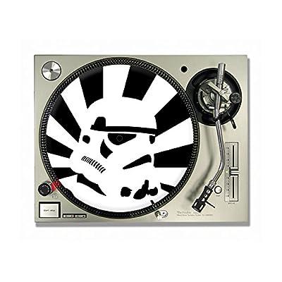 """Stormtrooper Strobe Vinyl DJ Turntable Slipmats/slipmat/slip mats 12"""" or 7"""" (12"""")"""