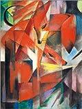 Poster 30 x 40 cm: Füchse von Franz Marc - hochwertiger