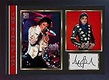 SGH SERVICES Poster, gerahmt, Michael Jackson, Autogramm,