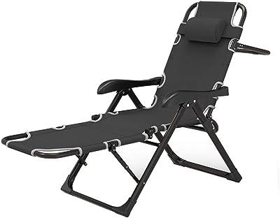 Amazon.com: Silla plegable reclinable para cama, tumbona ...