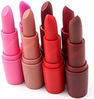 18 Colores Profesional Mate Pintalabios de Maquillaje Larga Duracion para Niñas por ESAILQ