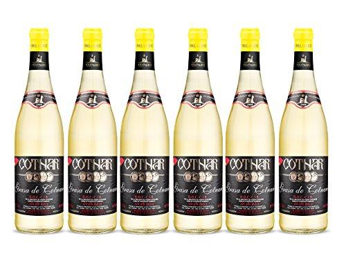 Cotnari | Grasa de Cotnari – Rumänischer Weißwein süß | Weinpaket (6 x 0.75 L) - Black Label D.O.C. - C.I.B. + 1 Kugelschreiber Amigo Spirits gratis