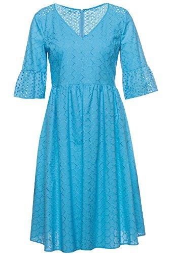 BOSS ORANGE jurk Abroidita voor dames in blauw, 34