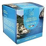 Granuli Profumati per aspirapolvere - Cristalli per ambiente - Scatola da 6 bustine da 50gr (Mar di Capri)