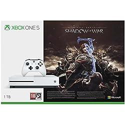 Xbox One S - Consola de 1 TB + Shadow Of War + Game Pass (1M) + Minecraft Explorer + Mando Inalámbrico: Edición Limitada Minecraft Creeper + Soporte Vertical + Forza Horizon 3 (Xbox One): Amazon.es: Videojuegos