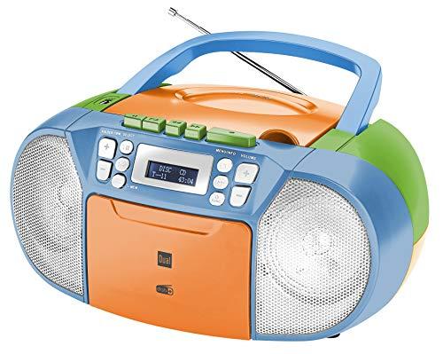 Dual DAB-P 210 Kassettenradio mit CD -...