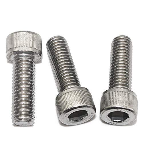 Tornillos hexagonales M5 DIN 912 de acero inoxidable A2-70