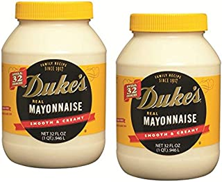 Duke's Real Mayonnaise, 32 oz. jar (2-pack case)