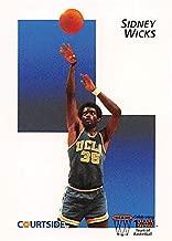 Sidney Wicks Basketball Card (UCLA) 1992 Courtside #44