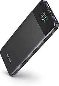 Charmast Portable Charger USBC Power Bank Portable Phone Charger 3A High Speed 10000mAh Battery Pack Slim Thin Small Portable Battery Charger for iPhone 12 11 X 8 Samsung S20 Google LG iPad Tablet