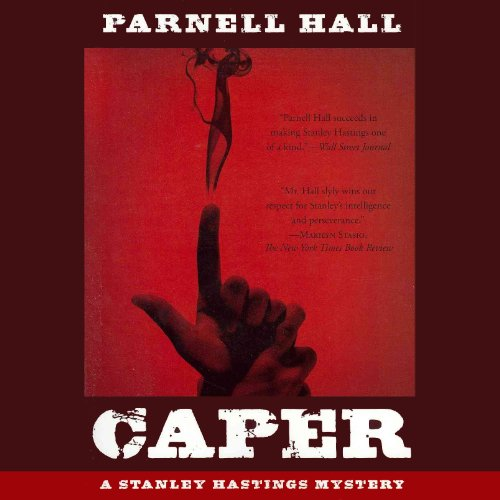 Caper     A Stanley Hastings Mystery, Book 17              By:                                                                                                                                 Parnell Hall                               Narrated by:                                                                                                                                 Christopher Kipiniak                      Length: 6 hrs and 33 mins     3 ratings     Overall 3.3