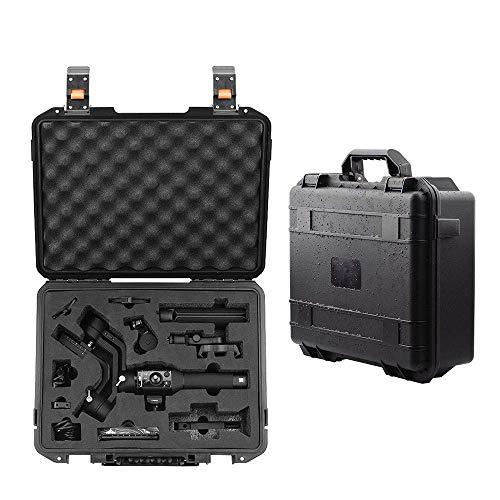 Kiowon DJI Ronin SC 3軸ジンバルスタビライザー ミラーレスカメラ用キャリング ケース 大容量 ポータブル ハードシェル 防水 耐衝撃