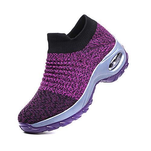 Lanceasy wandelschoenen voor vrouwen, 2019 nieuwe vrouwen-wandelschoenen, super soft-hoogte-toename reizen, outdoorschoenen