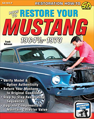 HT Restore Your Mustang 1964 1/2-73 (English Edition)