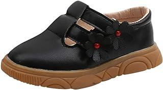 DolceTiger Bébé Filles Chaussures Princess, Chaussures Premier Pas pour Enfants Tout-Petits 0-10 Ans, Chaussures à Fleurs ...