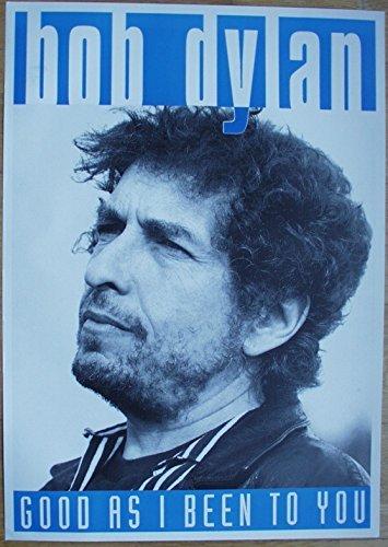 Bob Dylan Poster Format 62 x 86 cm Original von 1992