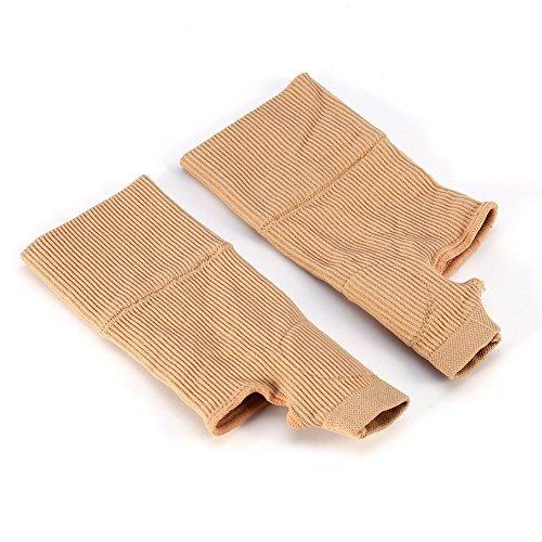 Muñequeras de Pulgar con Compresión de Gel de Silicio para Aliviar Lesiones, dolencias musculares y artritis Guantes para Terapia de muñecas 15 x 6,5cm