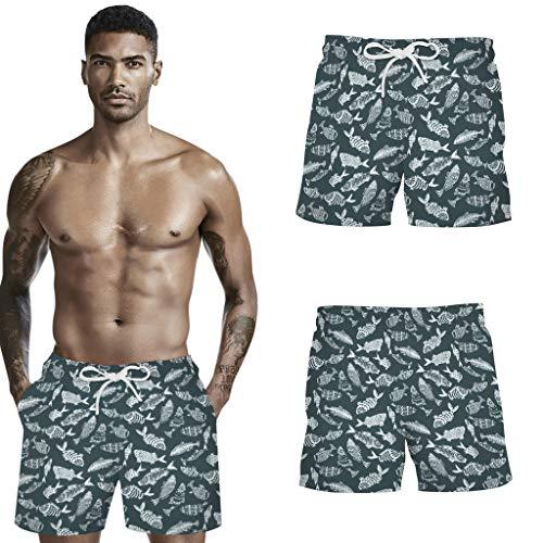 Shorts Confortables pour Hommes de Nouveau Style 2021, Shorts imprimés de Camouflage de Sports de Loisirs d'été pour Hommes