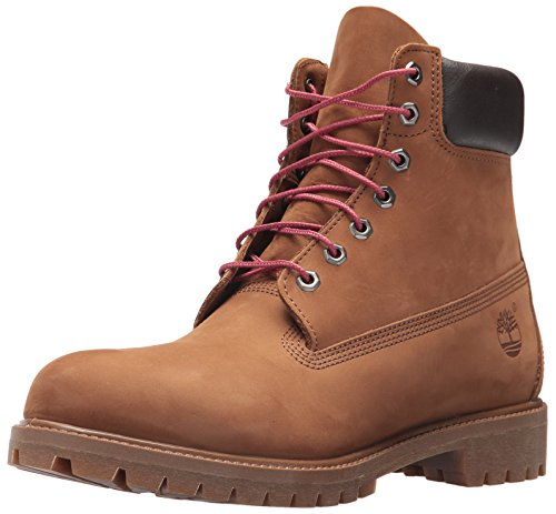 "Timberland Mens 6"" Premium Boot Leather Closed Toe, Tundra Waterbuck, Size 11.5"
