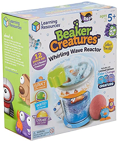 Learning Resources Beaker Creatures Whirling Wave Reactor, Homeschool, STEM, Reaction Chamber, Ages 5+