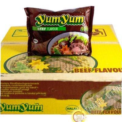 Suppe, rindfleisch-nudel-30x60g YUM YUM Thailand