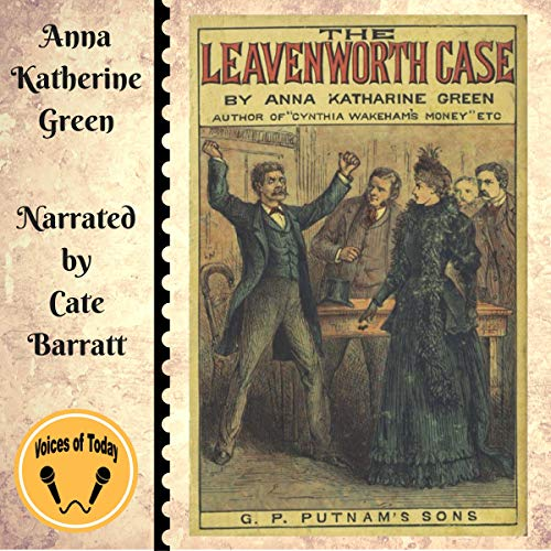 The Leavenworth Case audiobook cover art