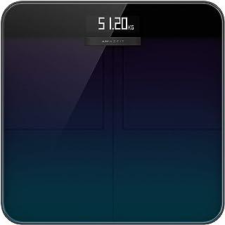 Amazfit Smart Scale, Bilancia Pesa Persona Digitale Bilancia Pesapersone Impedenziometrica con 16 Indici di Misurazione Ma...