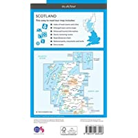 Scotland (OS Tour) (OS Tour Map)