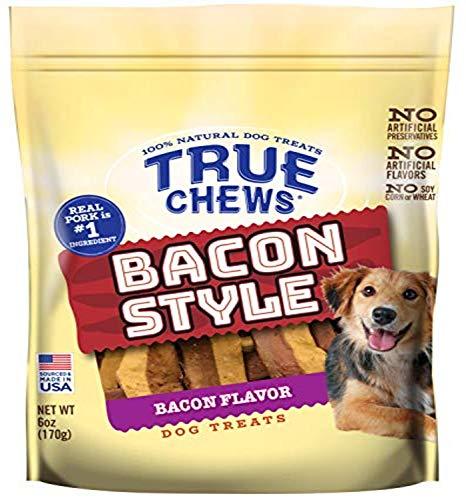 True Chews Style Bacon Flavor 6oz (TC-08518)