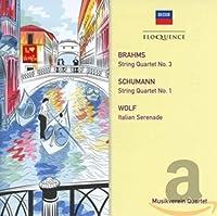 Brahms/Schumann: String Quarte