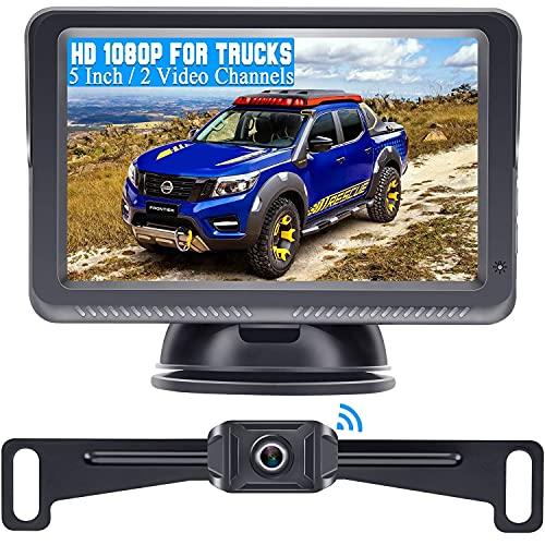DoHonest S23 5 Inch HD 1080P Wireless Backup Camera 5