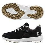 FootJoy Men's Flex Golf Shoes Black 10 M US