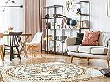 Alfombra Mosaicos Romanos Suelo Cocina PVC | 95 cm x 133 cm | Moqueta PVC | Suelo vinilico | Decoración del Hogar | Diseño Moderno, Original, Creativos