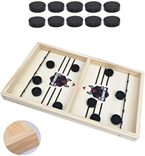 Fast Sling Puck Game, Chess Set, Hockey Board Game, Fast Puck Game, Portable Fun Board Game, Air Hockey, Slingpuck Game, W...