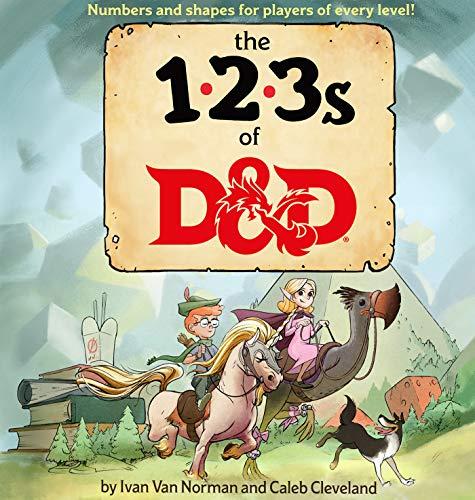 123s of D&d (Dungeons & Dragons Children's Book)