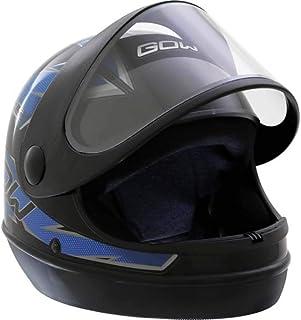 X Capacete Interlagos Preto/Azul Gow 60