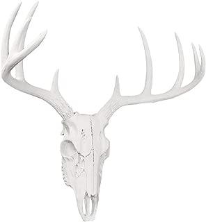 Wall Charmers Mini White Faux Deer Skull - 16