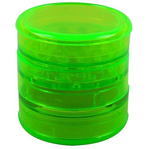 Acryl-Grinder, 4-teilig, Ø ca. 60mm, grün