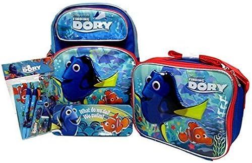 disfruta ahorrando 30-50% de descuento Finding Dory Toddler Medium Medium Medium 12 Rolling Backpack, Lunch Box, Pencil Case & Stationery Set by Bag2School  punto de venta