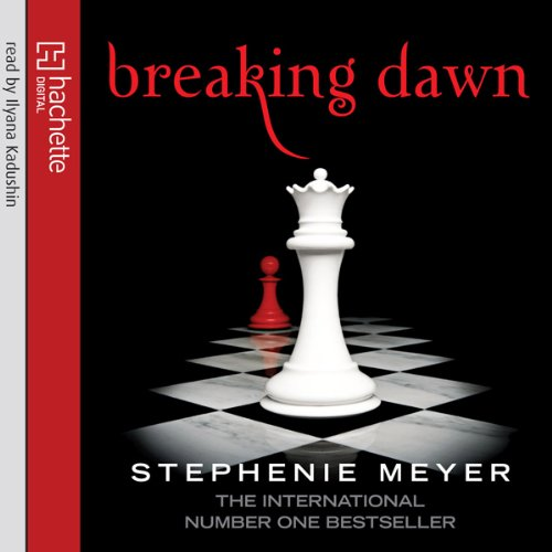 Breaking Dawn: Twilight Series, Book 4 audiobook cover art