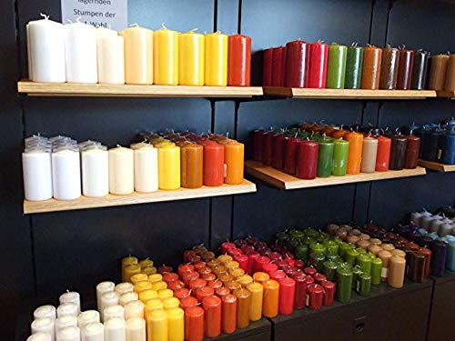 20 kg Qualitäts Stumpenkerzen Paket Kerzen TOP RAL Ware (4,75/kg)