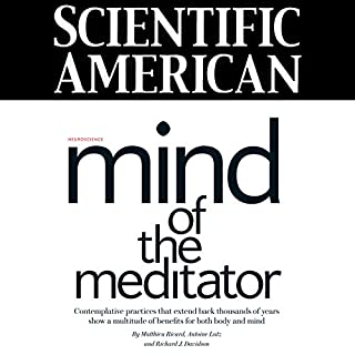 Scientific American: Mind of the Meditator cover art