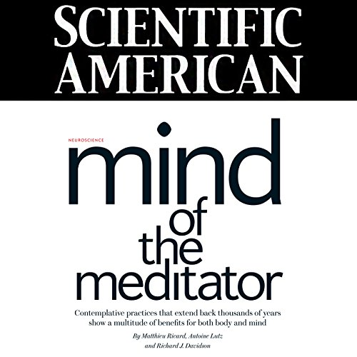 Couverture de Scientific American: Mind of the Meditator (English)